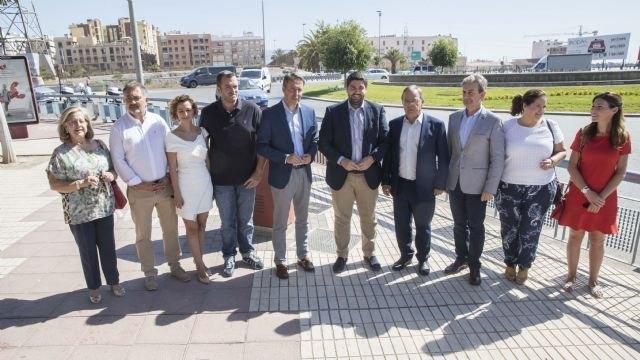 López Miras anuncia una nueva inversión de 21 millones de euros para infraestructuras en Lorca - 1, Foto 1