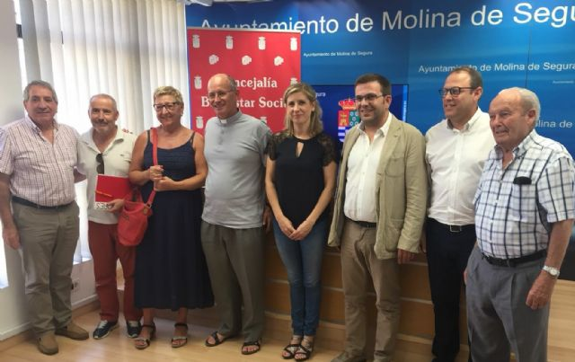 Cáritas recibe 60.000 euros municipales para el acompañamiento social a familias de Molina de Segura - 1, Foto 1