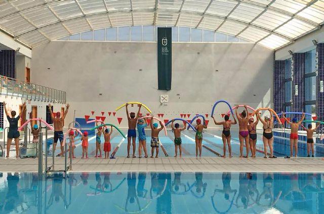 300 alumnos participan en julio en los cursos intensivos de natación del State Sport Las Torres - 1, Foto 1