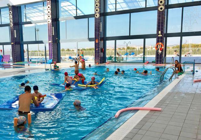 300 alumnos participan en julio en los cursos intensivos de natación del State Sport Las Torres - 2, Foto 2