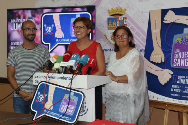 Jumilla volverá a ser capital del donante con una nueva edición de 'Está en nuestra sangre' - 1, Foto 1