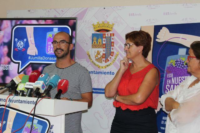 Jumilla volverá a ser capital del donante con una nueva edición de 'Está en nuestra sangre' - 2, Foto 2