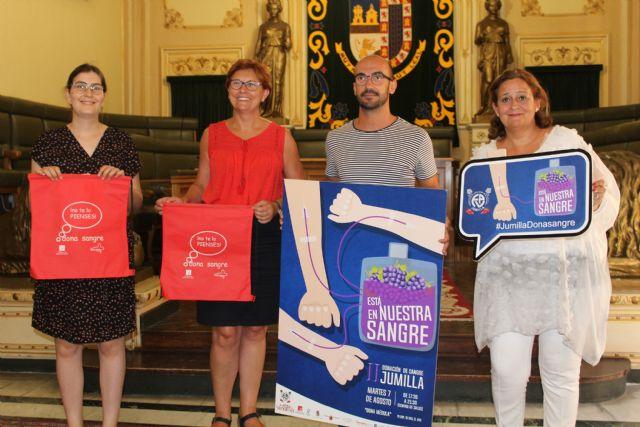 Jumilla volverá a ser capital del donante con una nueva edición de 'Está en nuestra sangre' - 3, Foto 3
