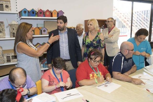 La Comunidad financia con 5´2 millones de euros el impulso de la autonomía de las personas con discapacidad intelectual de Lorca - 1, Foto 1