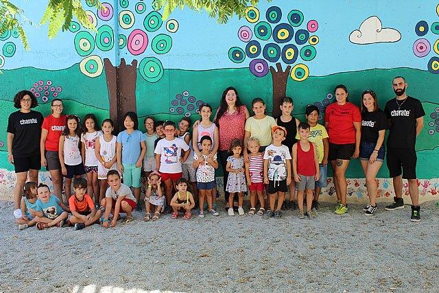 """Casi un centenar de participantes se dan cita en las Escuelas Municipales de Verano en los colegios """"La Cruz"""" y """"Santiago"""""""