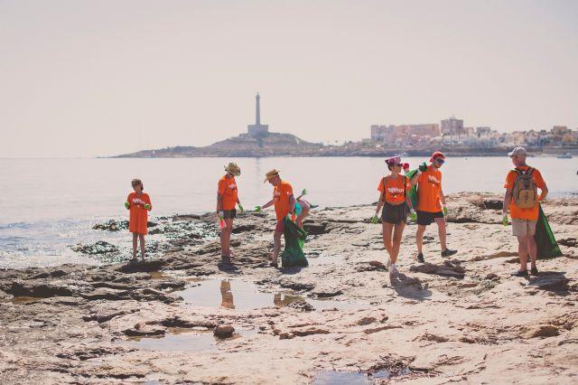 La Mar de Músicas y Soltec limpian Cabo de Palos de residuos - 1, Foto 1