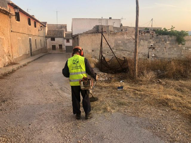 El Ayuntamiento está realizando un plan de choque de limpieza y desbroce en caminos, viales y carreteras del casco urbano y pedanías - 2, Foto 2