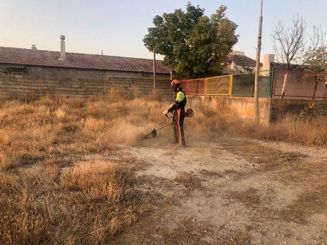 El Ayuntamiento está realizando un plan de choque de limpieza y desbroce en caminos, viales y carreteras del casco urbano y pedanías - 4, Foto 4