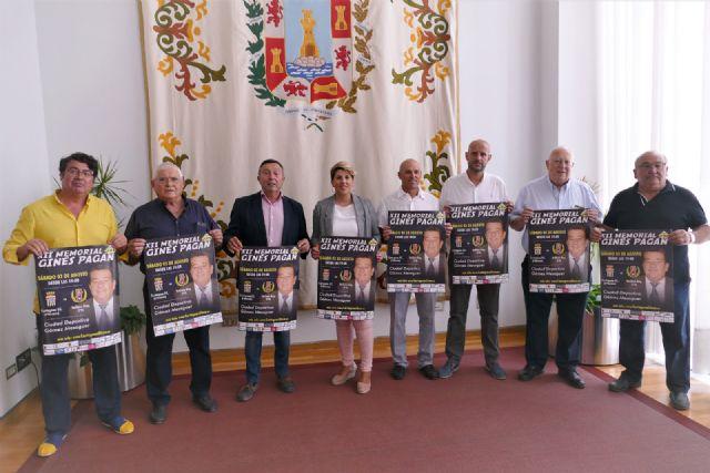 El Cartagena Fútbol Club y el Yeclano Deportivo se disputarán el XII Trofeo Memorial Ginés Pagán - 1, Foto 1