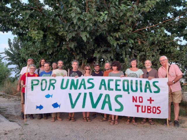 Huerta Viva reclama un mejor mantenimiento de las acequias y azarbes - 1, Foto 1