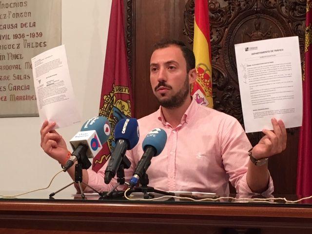 El concejal de Empresas Públicas del Ayuntamiento de Lorca, Francisco Morales, denuncia graves irregularidades en el seno de la empresa municipal de limpieza, Limusa - 1, Foto 1