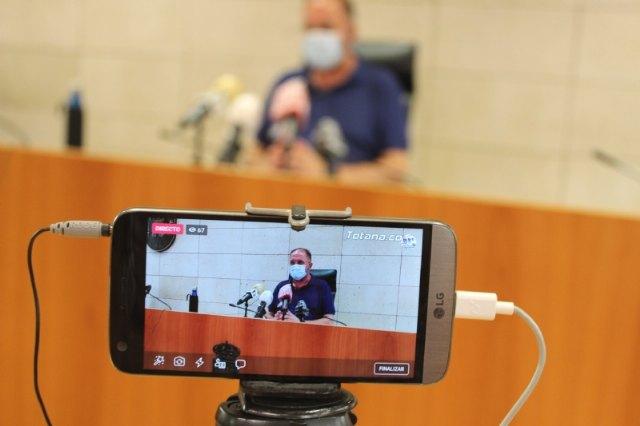 El alcalde solicita una reunión urgente con López Miras para abordar la extraordinaria situación social y sanitaria del municipio a raíz de los brotes locales de la pandemia - 1, Foto 1