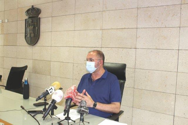 El alcalde solicita una reunión urgente con López Miras para abordar la extraordinaria situación social y sanitaria del municipio a raíz de los brotes locales de la pandemia - 2, Foto 2