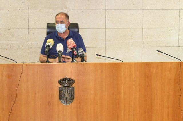 El alcalde solicita una reunión urgente con López Miras para abordar la extraordinaria situación social y sanitaria del municipio a raíz de los brotes locales de la pandemia - 4, Foto 4