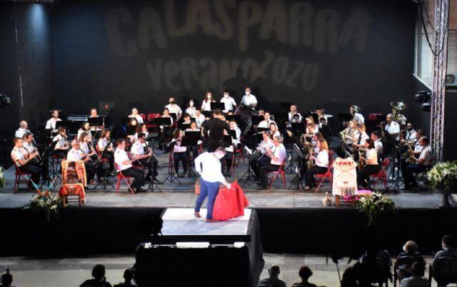 Los pasodobles y el toreo de salón se unieron en Calasparra durante un concierto muy especial - 1, Foto 1