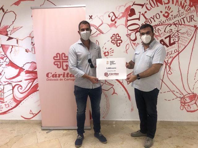 Murcia Sport Business y Cáritas Región de Murcia se unen en su lucha contra el Covid-19 - 1, Foto 1