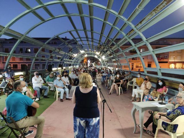 Más de un centenar de lumbrerenses disfrutaron con la vuelta del recital de poesía del Nogalte Cultural - 2, Foto 2