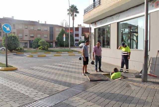 Puerto Lumbreras pone en marcha un plan especial de revisión y limpieza de imbornales - 1, Foto 1