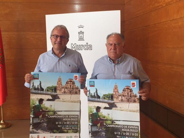 114 deportistas de toda España compiten en los campeonatos de pesca deportiva de agua dulce, U-15, U-20, U-25 en el Río Segura - 2, Foto 2