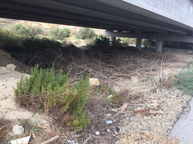 El PSOE exige al gobierno de Ballesta la limpieza y adecuación de las ramblas del municipio ante el anuncio de una posible gota fría - 3, Foto 3