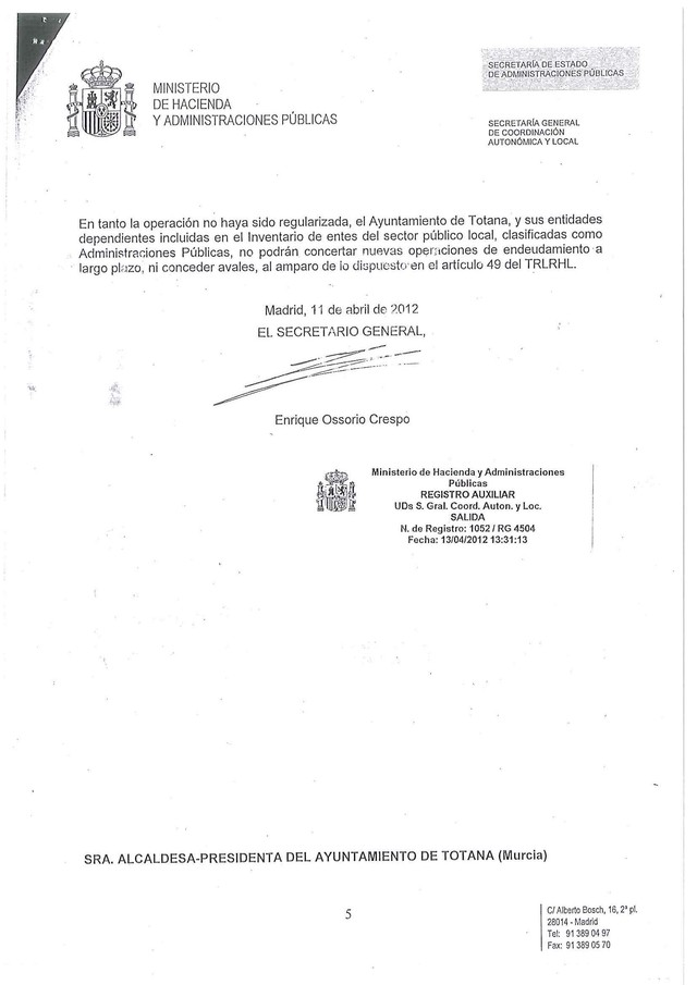 Cánovas: El cinismo del PP respecto al Préstamo con el BBVA supera todos los límites asumibles en política, rayando lo ruín - 4, Foto 4
