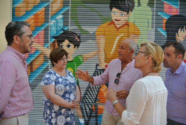 Fomento eliminará las pintadas  de distintas calles del casco urbano en las próximas semanas - 1, Foto 1