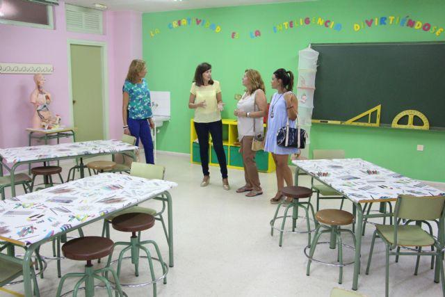 El Ayuntamiento realiza más de 200 actuaciones para la puesta a punto de los colegios - 1, Foto 1