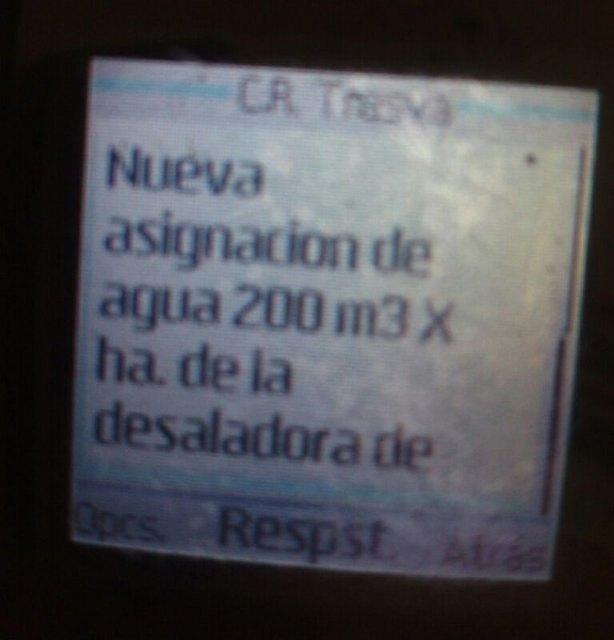 Afectados Expedientes de Regadío de El Raiguero: