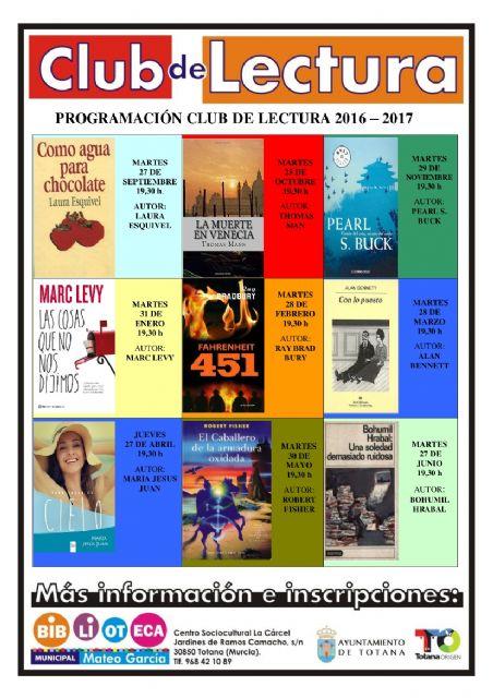 El Club de Lectura retoma las reuniones con el análisis de la novela