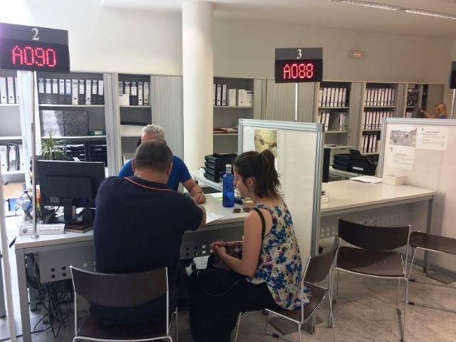 Se restablece el horario del Servicio de Atención al Ciudadano del Ayuntamiento a partir de mañana 1 de septiembre, de 9:00 a 14:00 horas, respectivamente