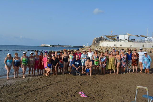 Concluyen los cursos de verano de talasoterapia en la playa - 1, Foto 1