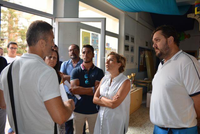 El edil de Educación lamenta que la Consejería retrase al próximo curso parte del compromiso adquirido con el AMPA del colegio Mediterráneo - 1, Foto 1