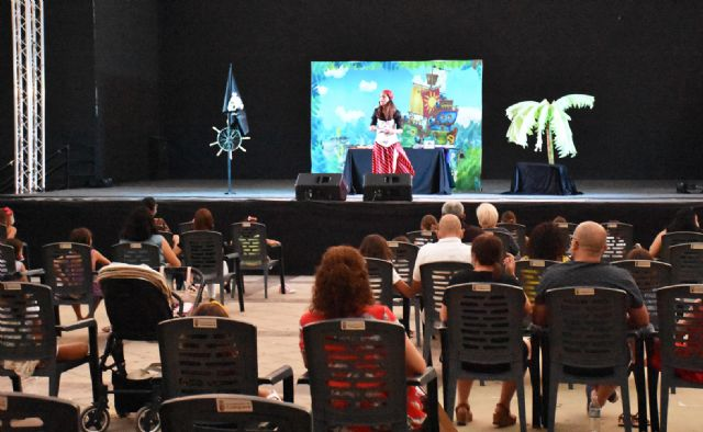 Miriam Oller y sus historias de piratas entretuvieron, el pasado viernes, a los niños y niñas de Calasparra - 3, Foto 3