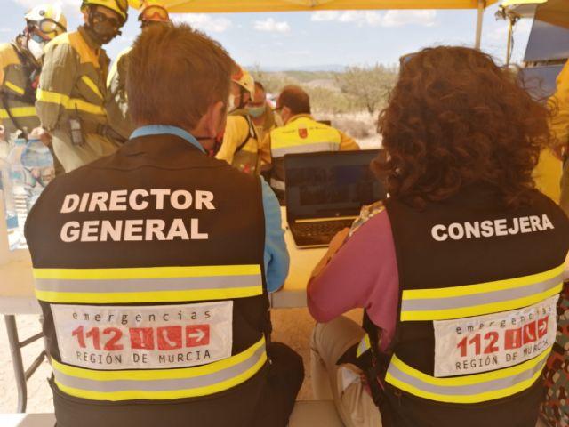 El Plan Infomur pasa a nivel 1 tras quedar estabilizado el incendio en la Sierra de la Silla - 1, Foto 1