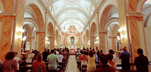Las Torres de Cotillas rinde homenaje a su patrona, la Virgen de la Salceda, el día en el que hubieran concluido sus fiestas - 4, Foto 4