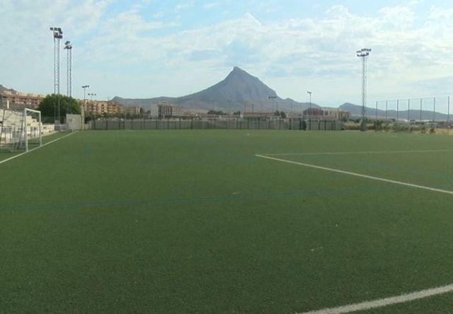 Abierto el proceso de adjudicación de las obras para cambiar el césped del campo de fútbol Antonio Ibáñez - 1, Foto 1