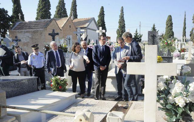 Murcia incorpora ´la ciudad de los muertos´ a ´la ciudad de los vivos´ haciendo del Cementerio de Nuestro Padre Jesús un bien cultural - 1, Foto 1