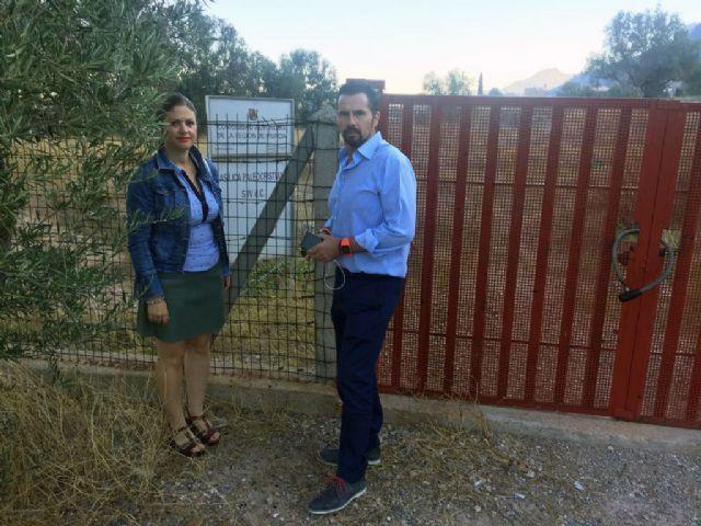 Cs exige la ejecución inmediata de la partida presupuestaria de 2016 para la recuperación del entorno de la Basílica de Algezares - 3, Foto 3