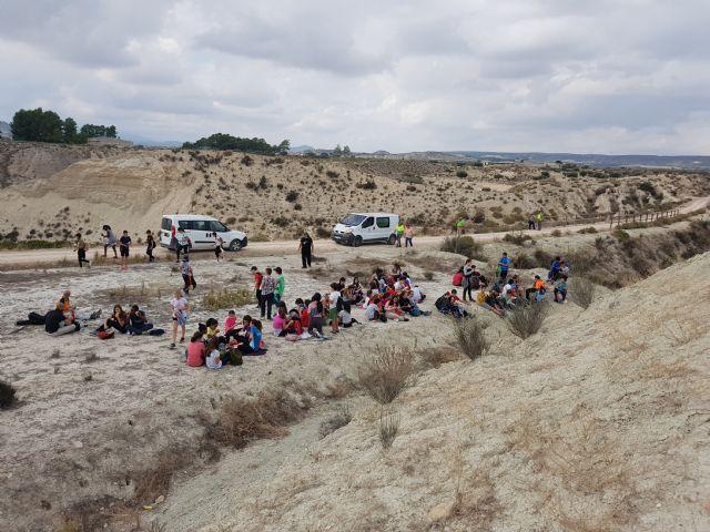 90 Alumnos del IES Floridablanca de Murcia realizan una reforestación en la Vía Verde - 4, Foto 4