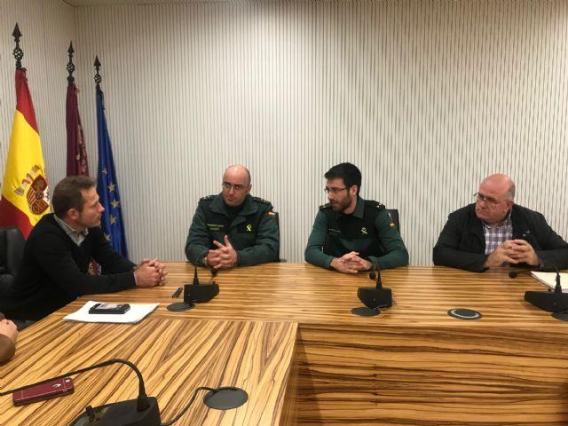 El Alcalde recibe al nuevo Teniente Comandante de Puesto Principal de la Guardia Civil, Rubén Peiró - 3, Foto 3
