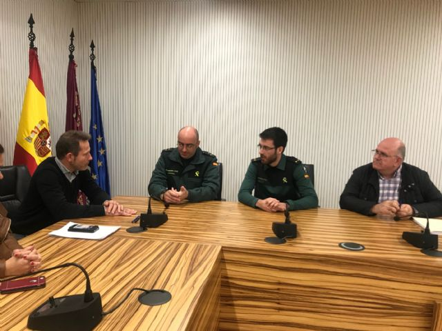 El Alcalde recibe al nuevo Teniente Comandante de Puesto Principal de la Guardia Civil, Rubén Peiró - 4, Foto 4
