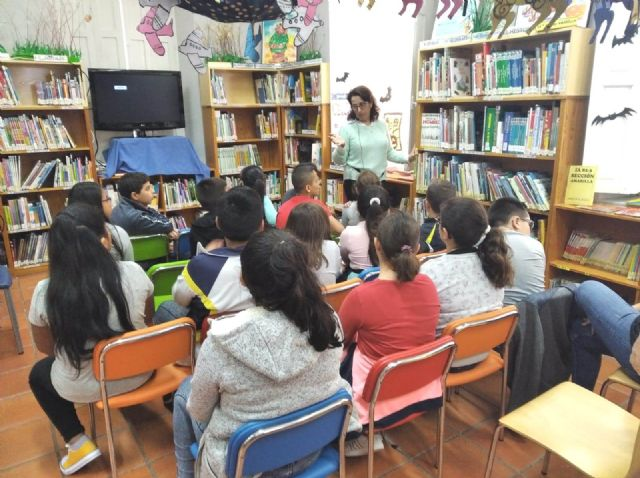 "The ""Mateo García"" Municipal Library begins the activities of the Reading Animation program for the 2019/2020 period"