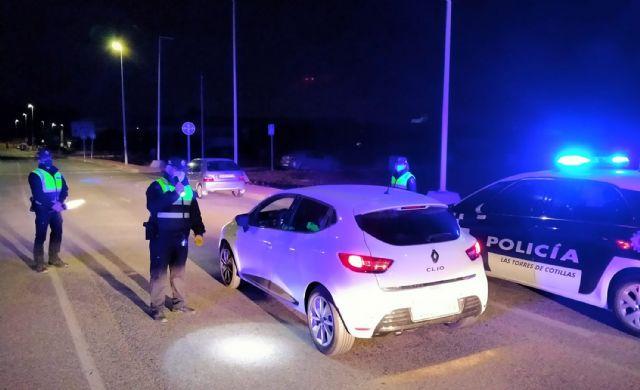 La Policía Local intensifica los controles para garantizar el cumplimiento de las restricciones en los desplazamientos - 1, Foto 1