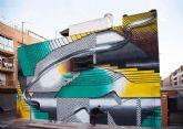 Un espectacular mural de Ángel Toren pone el broche de oro al primer año de existencia de la Oficina Municipal del Grafiti