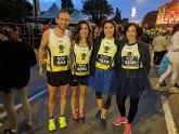 Atletas del CAT participaron en la I Correvieja Totanera, la San Silvestre de Albox y la San Silvestre de Murcia