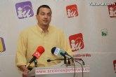 Fallece a los 52 años el político de Izquierda Unida José Antonio Pujante Diekmann