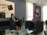 El presidente de COEC, Pedro Pablo Hernández destaca el 'ejemplo' de San Javier para incentivar la inversión empresarial