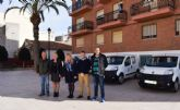 La adquisición de cuatro nuevos vehículos optimiza el gasto del parque móvil