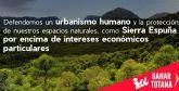Ganar Totana asegura que la Conservación y Protección de los Espacios Naturales es una prioridad innegociable en el PGOU