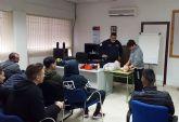 Protección Civil forma a los alumnos del TAFAD del IES Salvador Sandoval en primeros auxilios